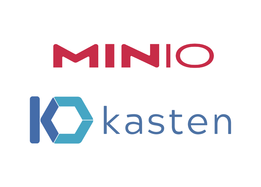 Kasten and MinIO: Secure, Cloud-Native Backups at Scale