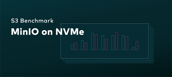 S3 Benchmark: MinIO on NVMe